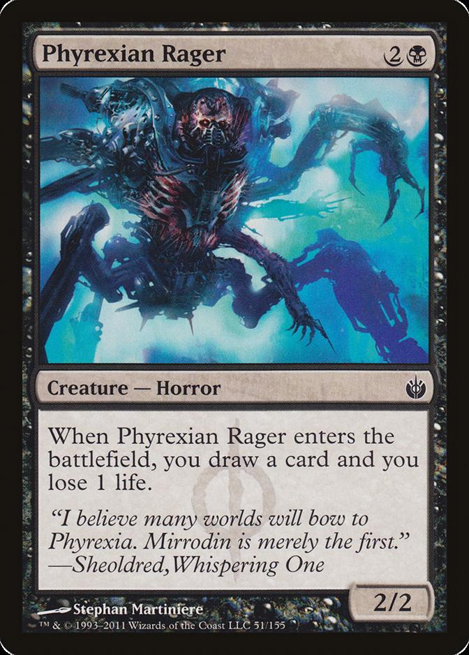 Phyrexian Rager [MBS] (F)
