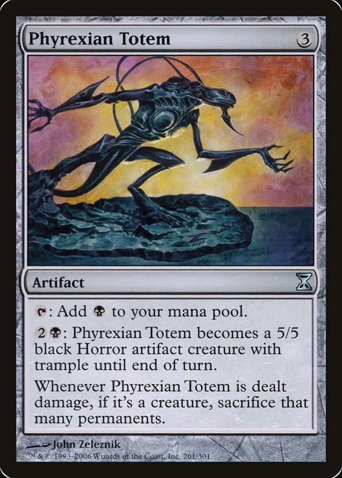 Phyrexian Totem [TSP]