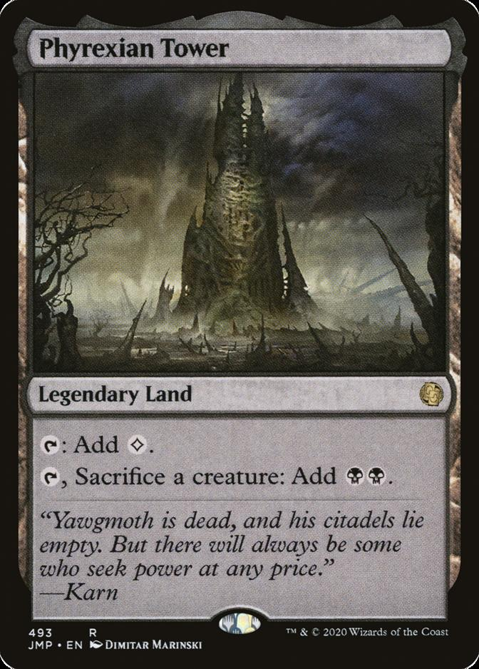 Phyrexian Tower [JMP]