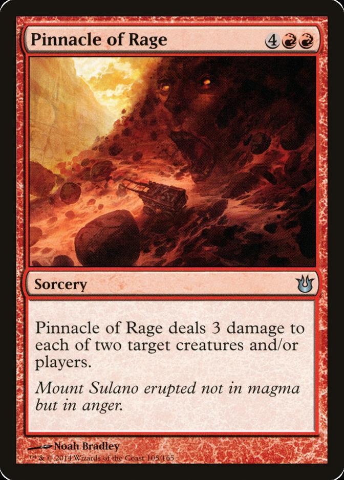 Pinnacle of Rage [BNG]