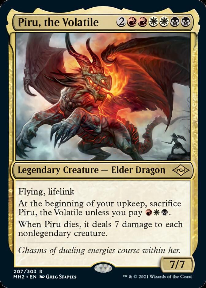 Piru, the Volatile [MH2]