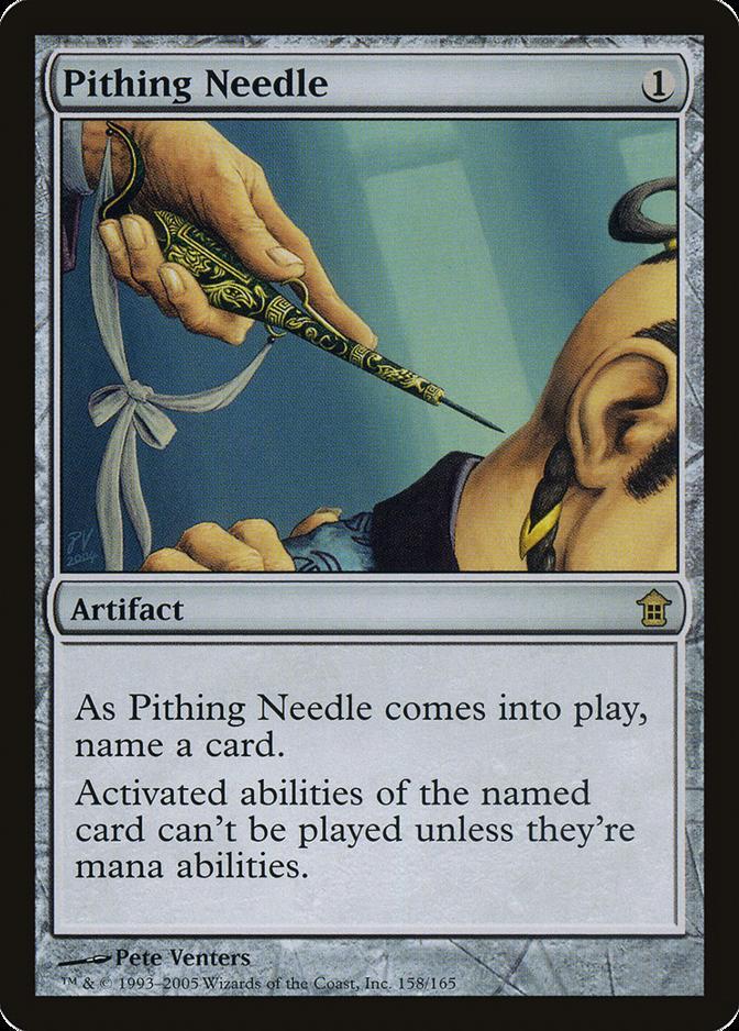 Pithing Needle [SOK]