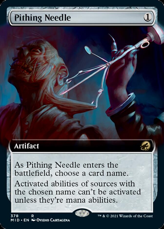 Pithing Needle <extended> [MID]