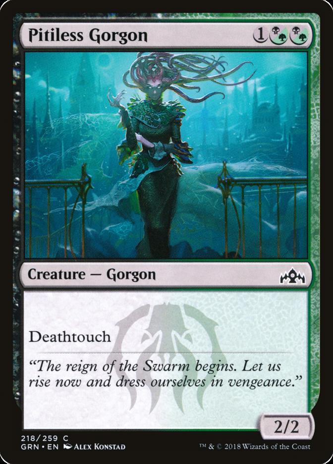 Pitiless Gorgon [GRN] (F)