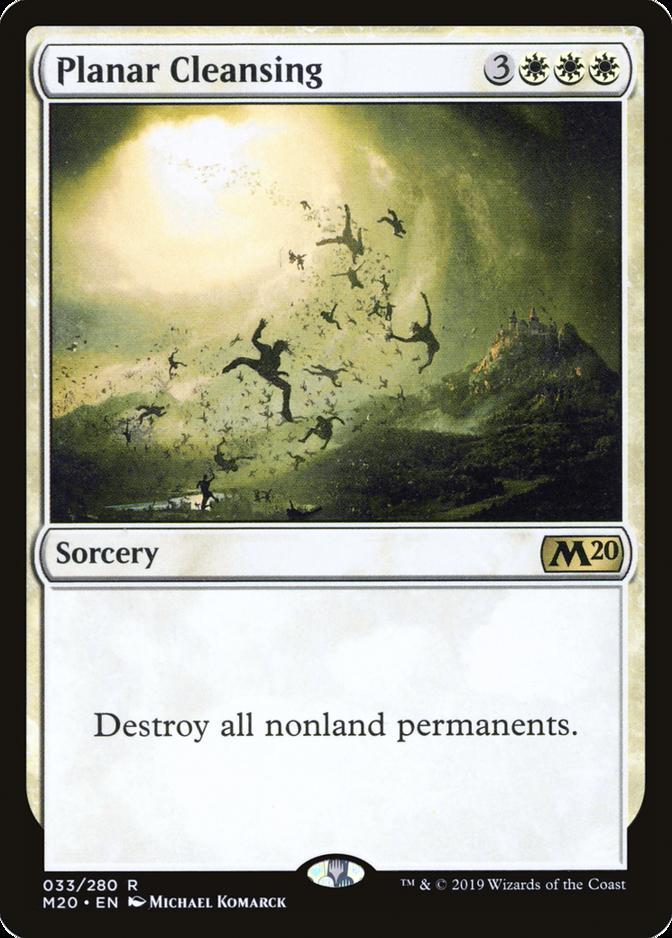 Planar Cleansing [M20]