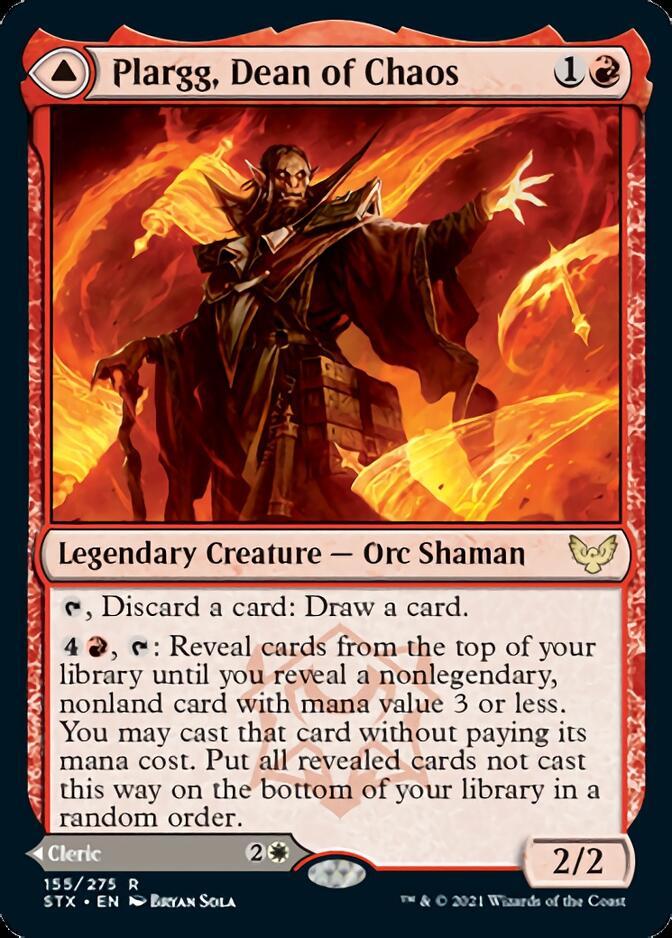 Plargg, Dean of Chaos [STX]