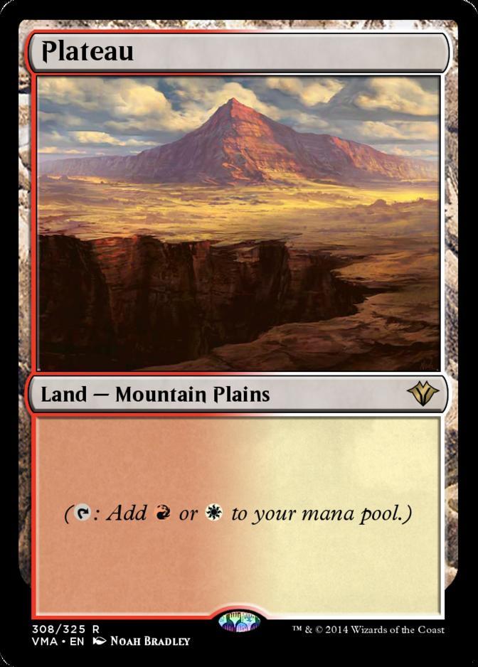 Plateau [VMA]