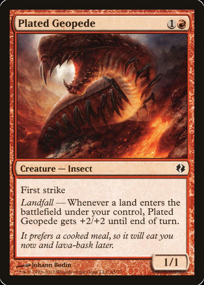 Plated Geopede [DDI]