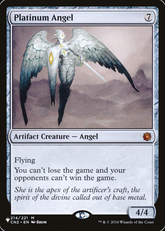 Platinum Angel [PLIST]