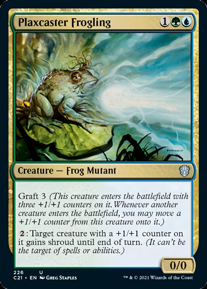 Plaxcaster Frogling [C21]