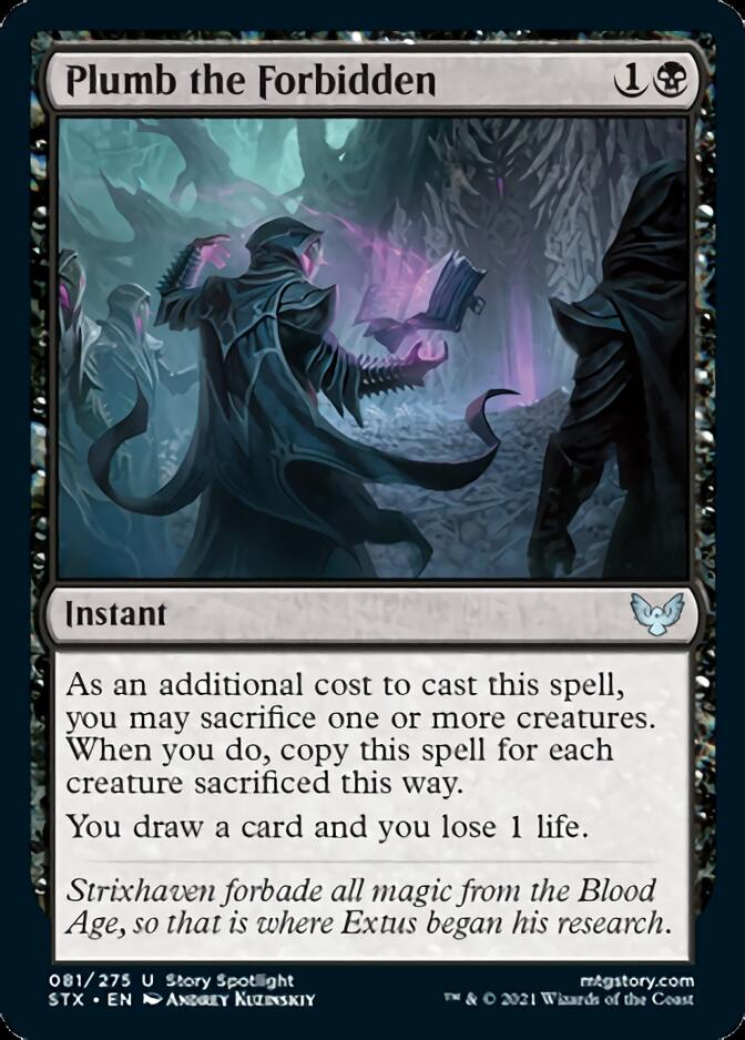 Plumb the Forbidden [STX]