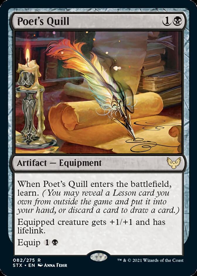Poet's Quill [STX]