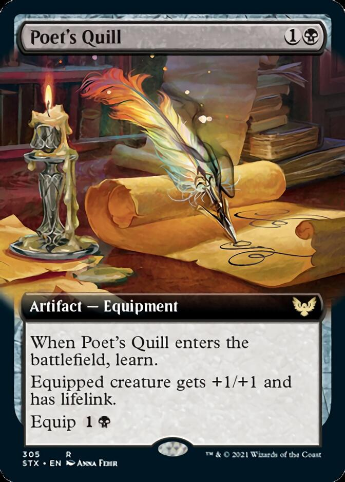 Poet's Quill <extended> [STX]