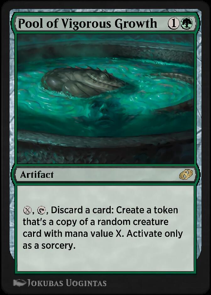 Pool of Vigorous Growth [J21]