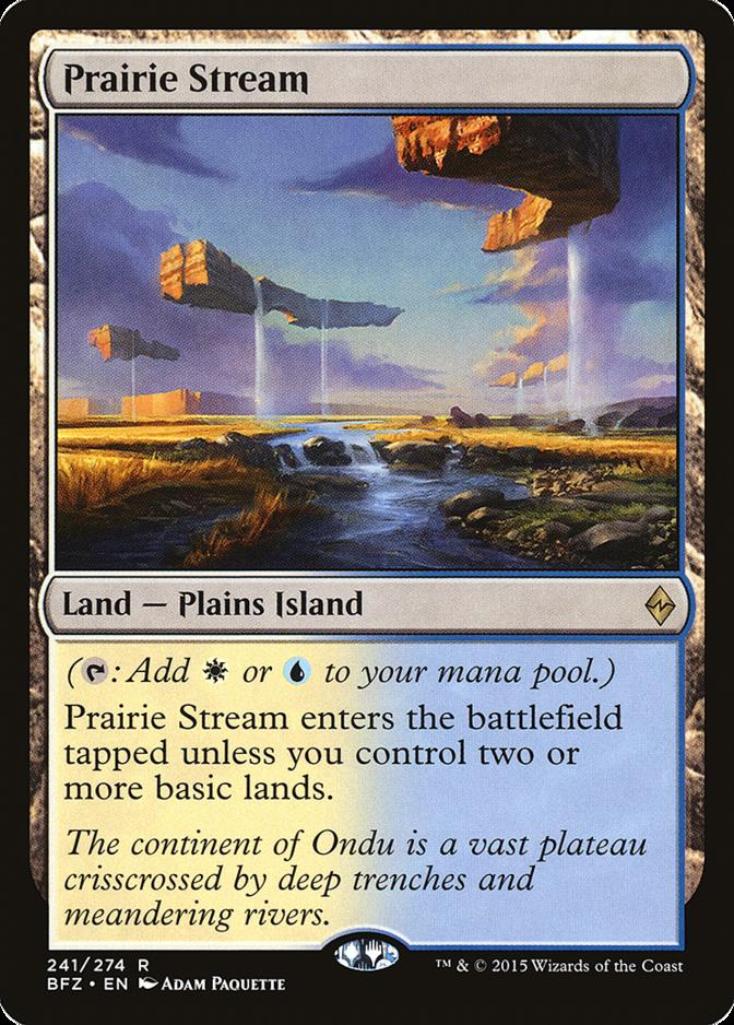 Prairie Stream [BFZ] (F)
