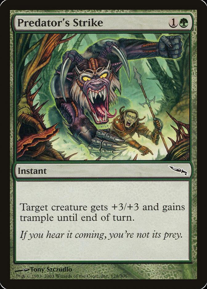 Predator's Strike [MRD]