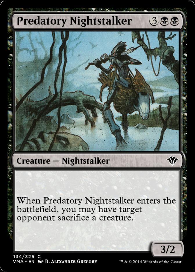 Predatory Nightstalker [VMA] (F)