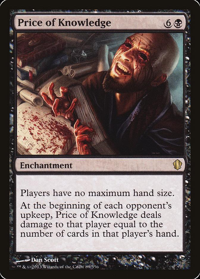 Price of Knowledge [C13]