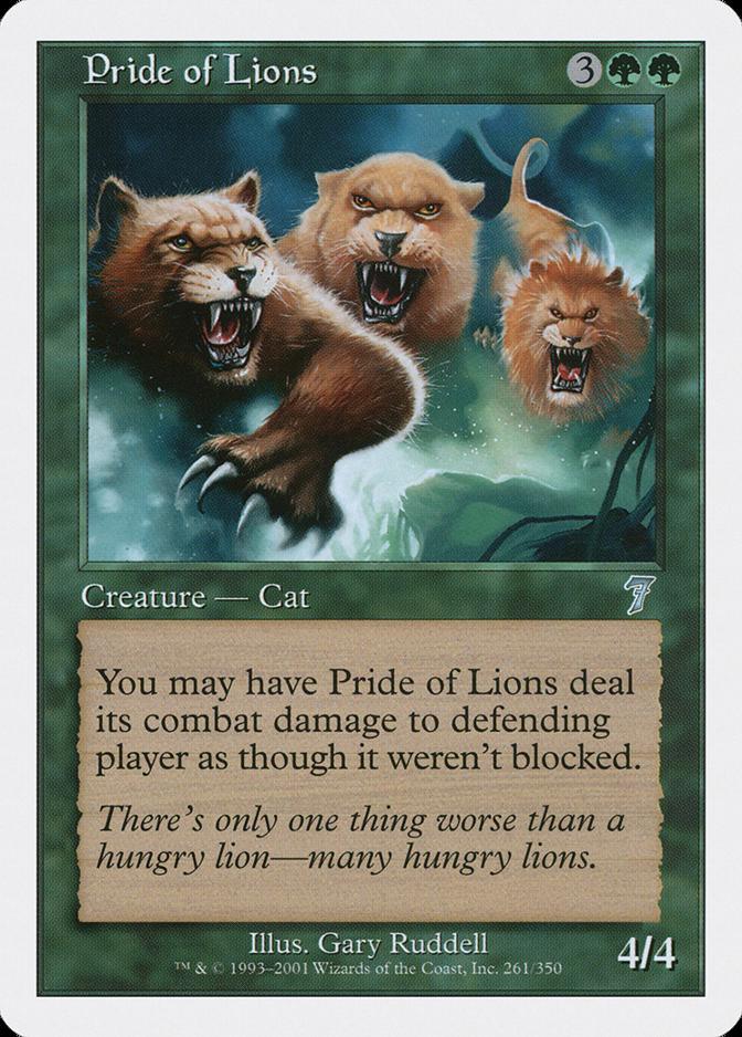 Pride of Lions [7E]