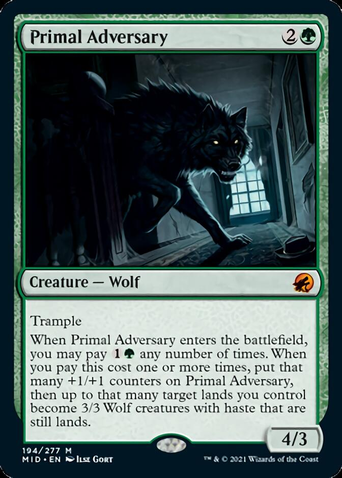 Primal Adversary [MID]
