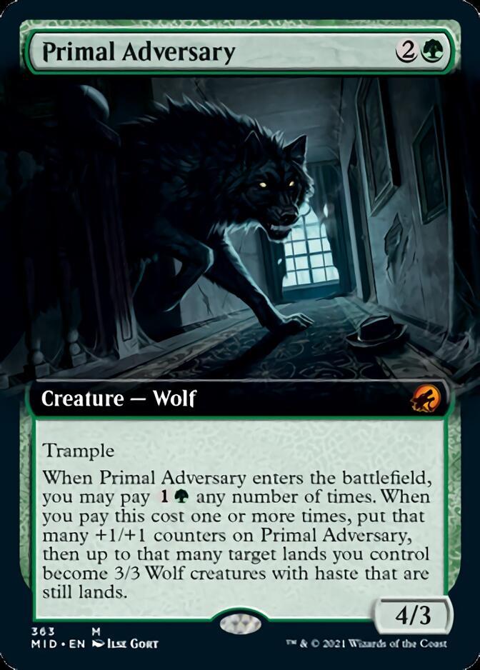 Primal Adversary <extended> [MID]