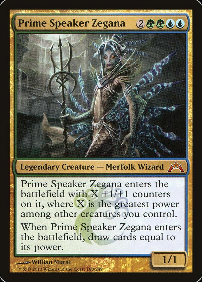 Prime Speaker Zegana [GTC]