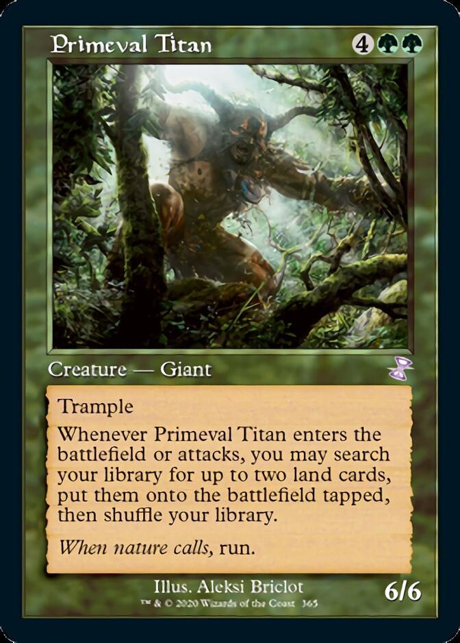 Primeval Titan <timeshifted> [TSR]