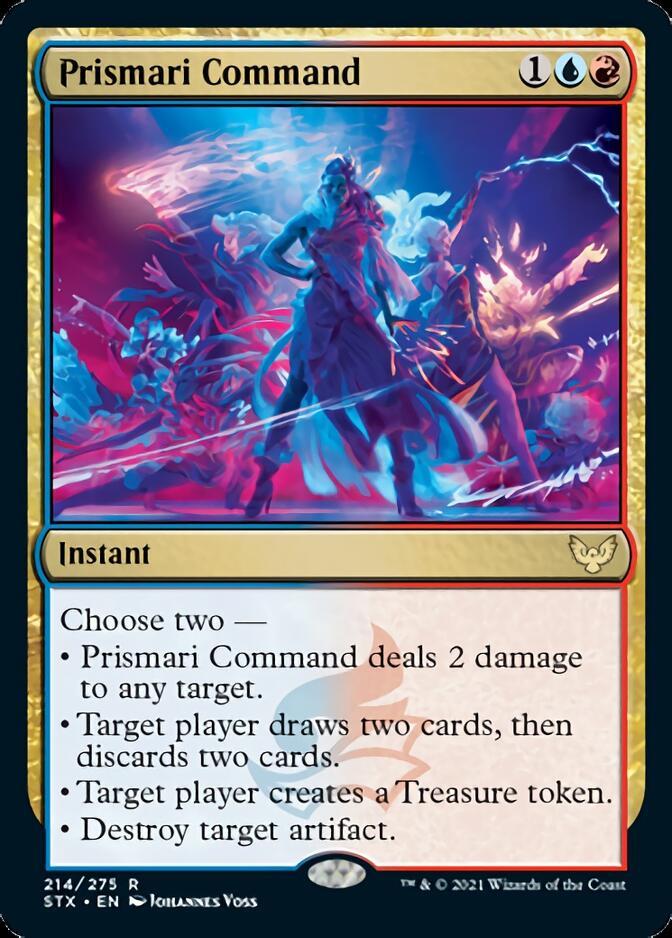 Prismari Command [STX]