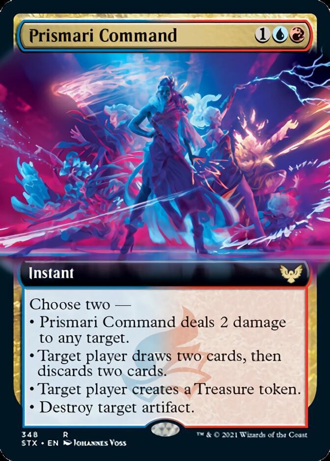 Prismari Command <extended> [STX]