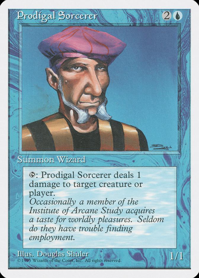 Prodigal Sorcerer [4ED]