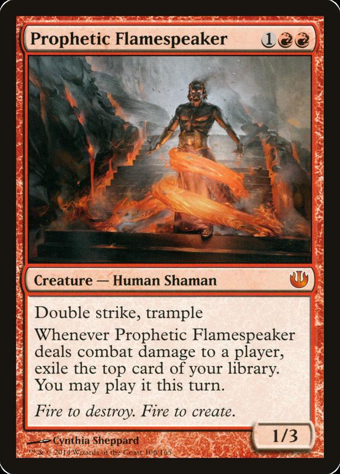 Prophetic Flamespeaker [JOU]