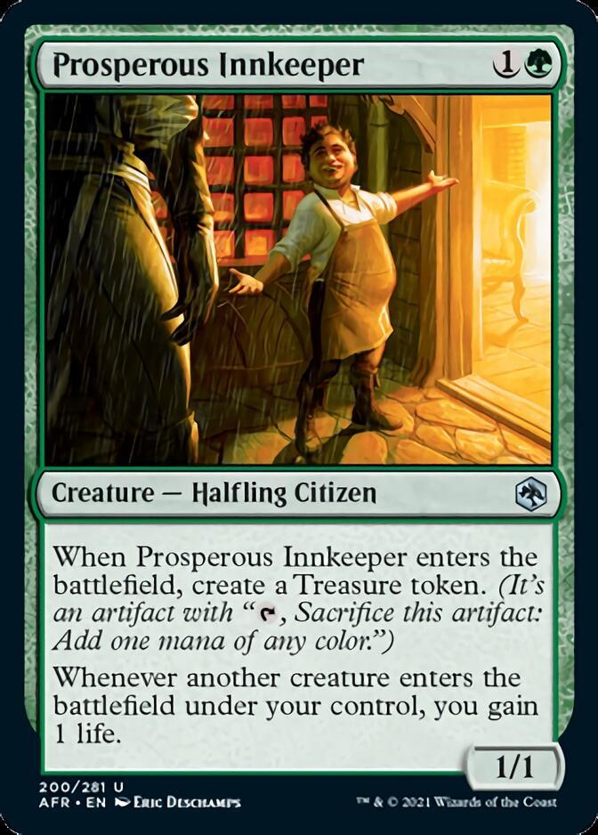 Prosperous Innkeeper [AFR]