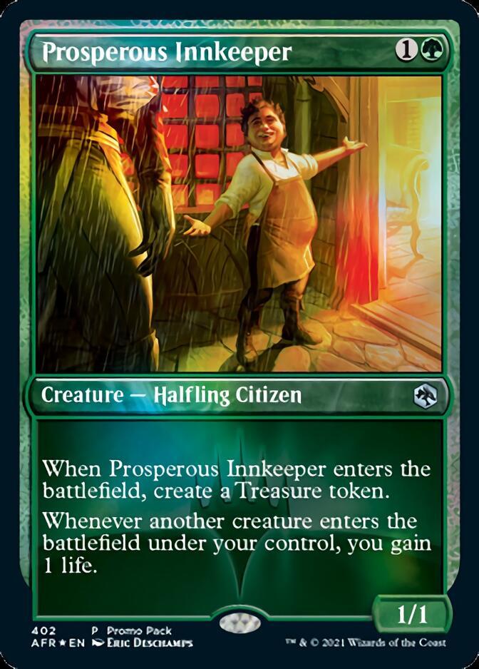 Prosperous Innkeeper <promo pack> [AFR] (F)