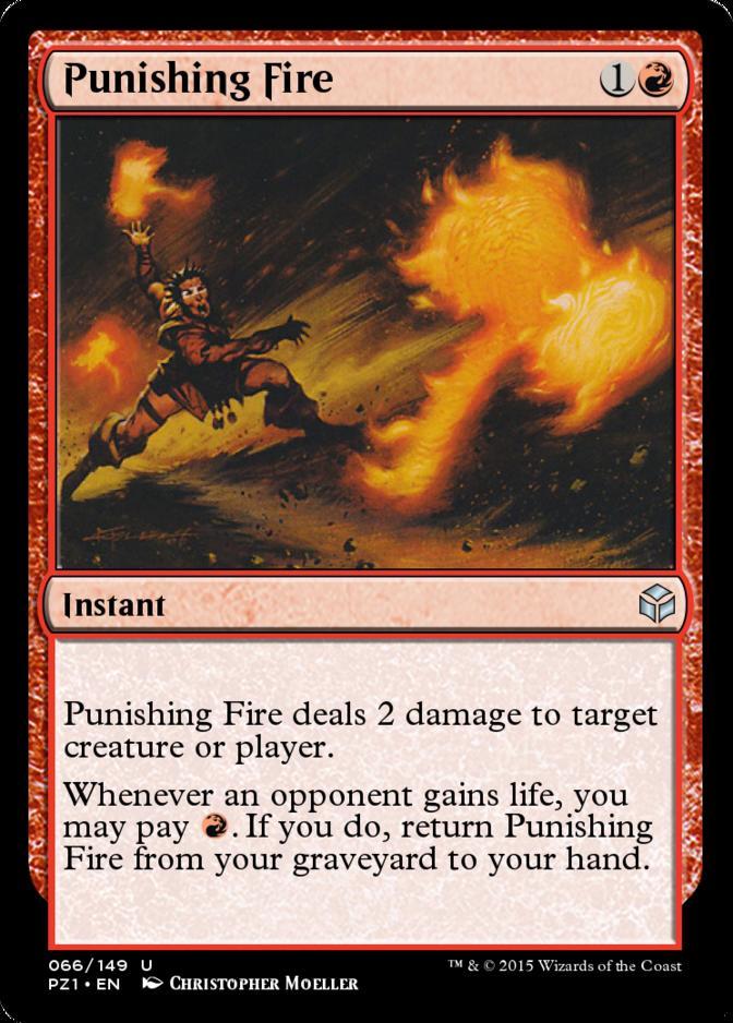 Punishing Fire [PZ1]