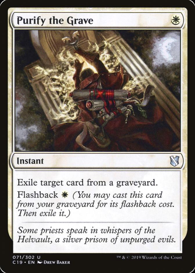 Purify the Grave [C19]
