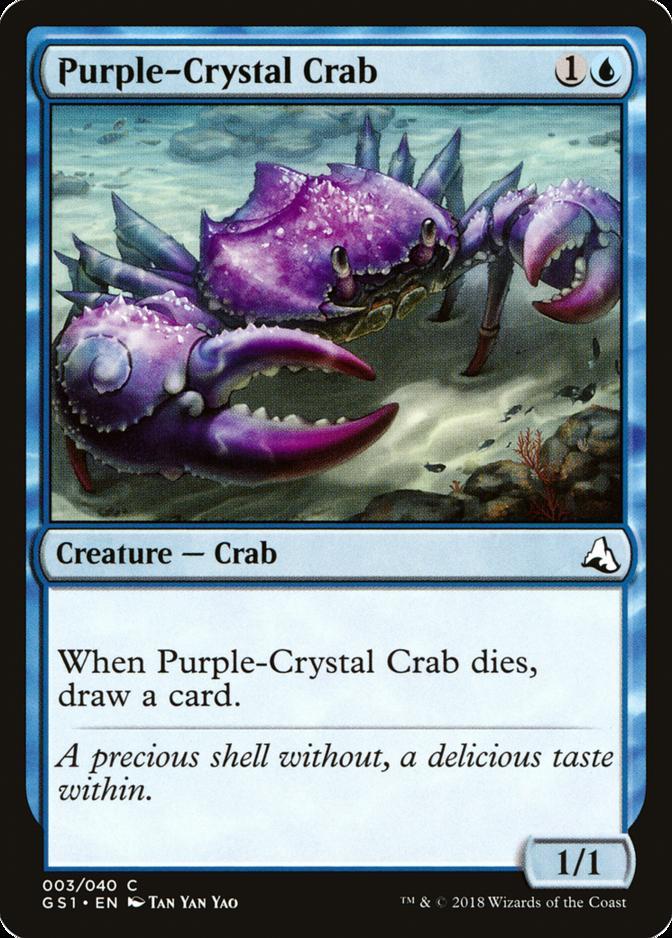 Purple-Crystal Crab [GS1]
