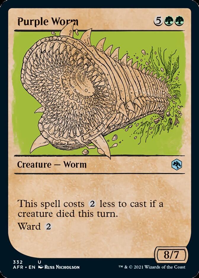 Purple Worm <showcase> [AFR]