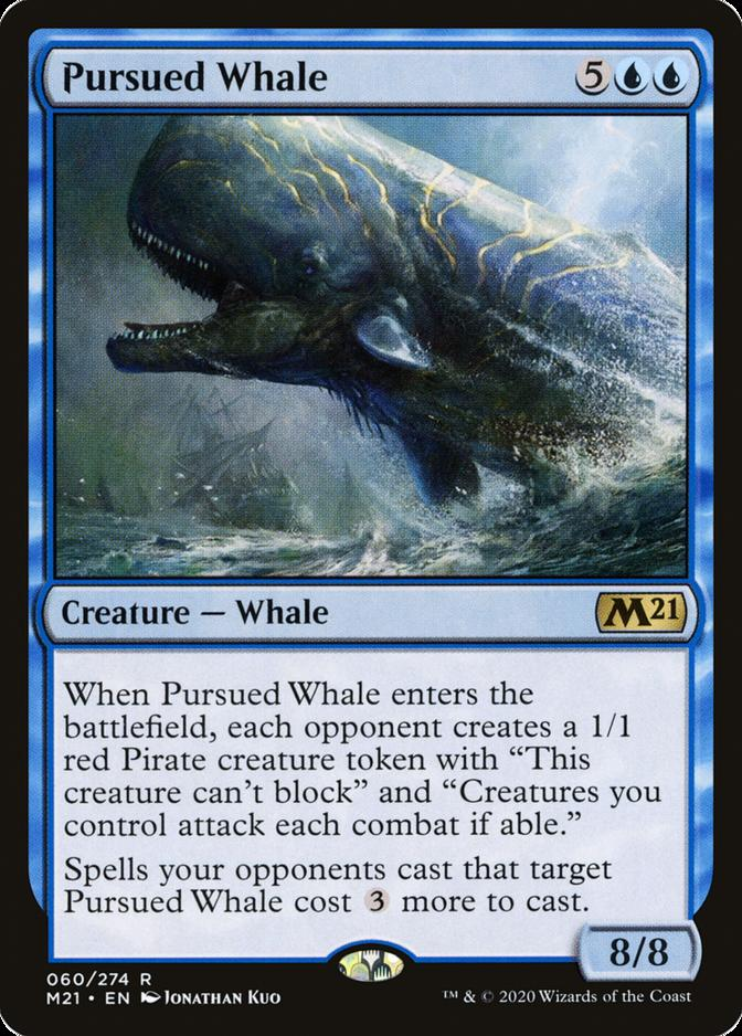 Pursued Whale [M21]