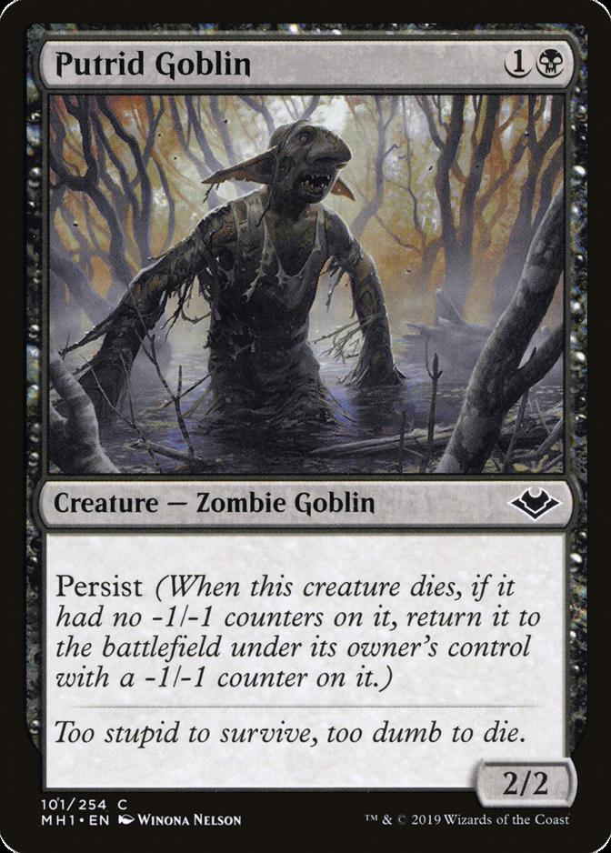 Putrid Goblin [MH1]