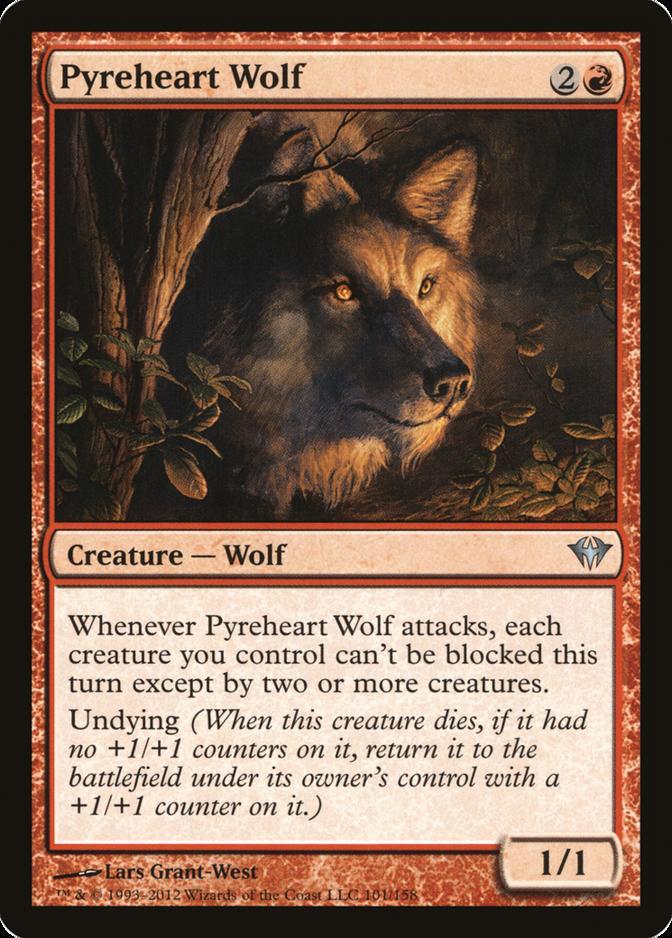 Pyreheart Wolf [DKA] (F)