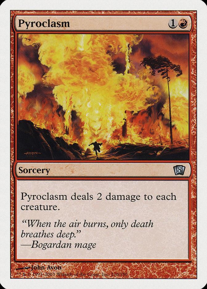 Pyroclasm [8ED] (F)