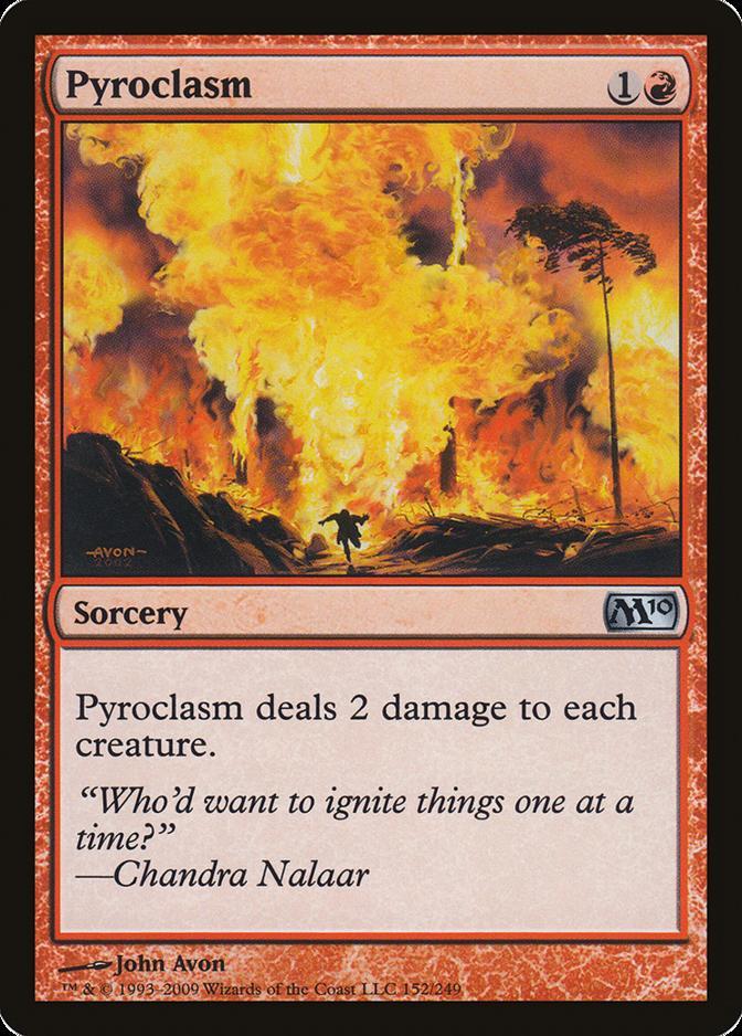 Pyroclasm [M10] (F)