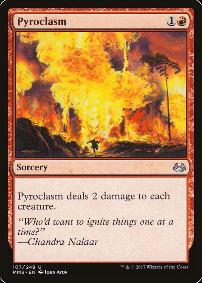 Pyroclasm [MM3] (F)