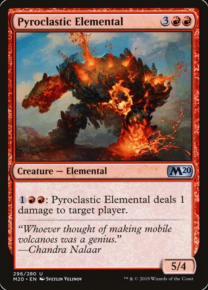 Pyroclastic Elemental [M20]
