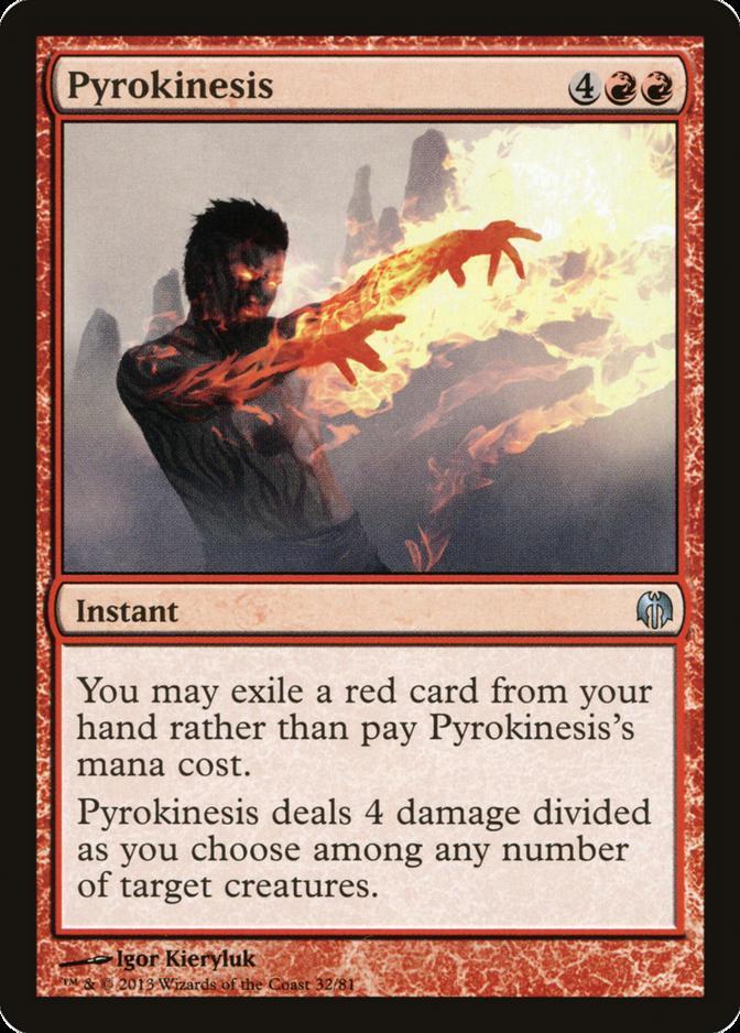 Pyrokinesis [DDL]