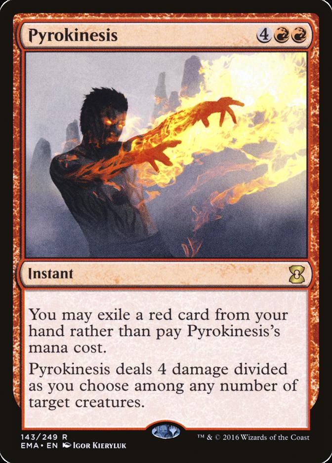 Pyrokinesis [EMA]