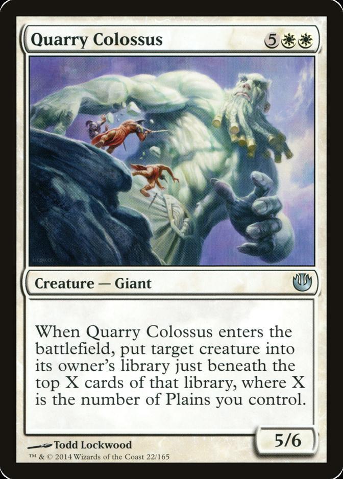 Quarry Colossus [JOU]