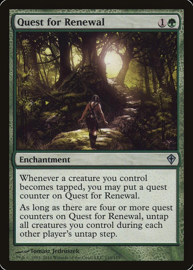 Quest for Renewal [WWK] (F)