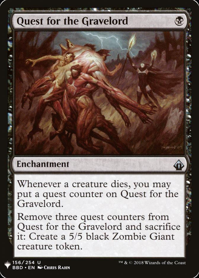 Quest for the Gravelord [MB1]