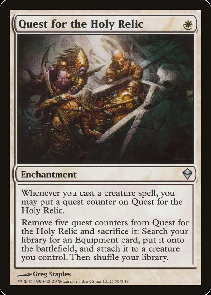 Quest for the Holy Relic [ZEN]
